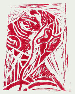 St Mary's Catholic School - Print Workshop with Incubate Experimental Printmaking